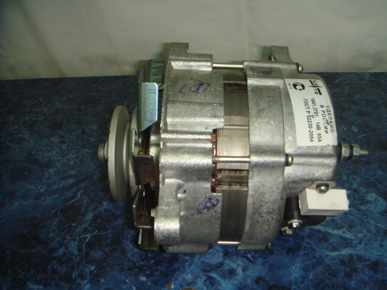 схема подключения генератора 6552.3701 28в 90а