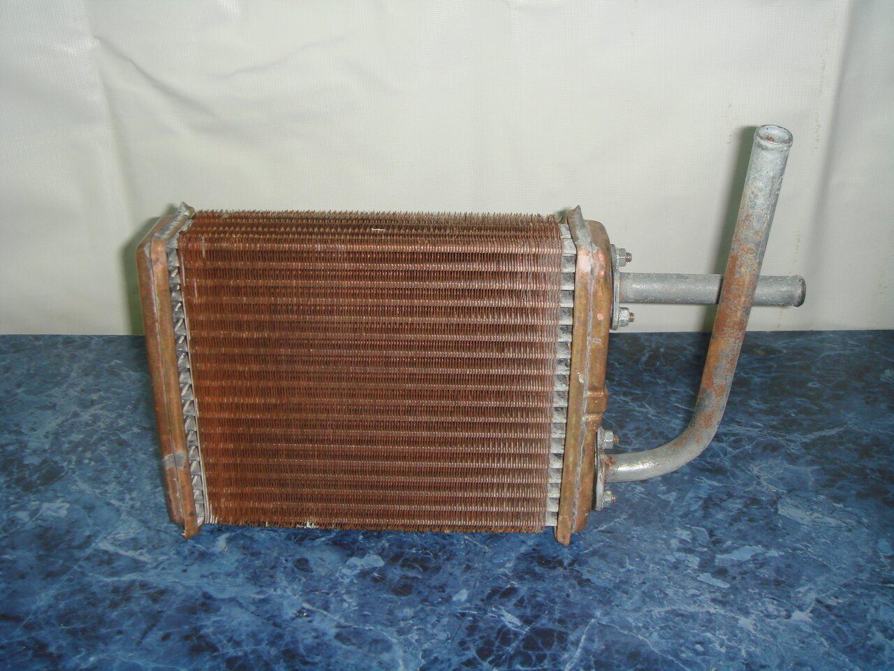 Площадь теплообменника радиатора ваз 2106 земляной теплообменник